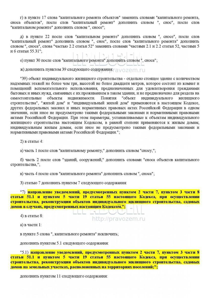 Отмена разрешения на строительство по инициативе администрации
