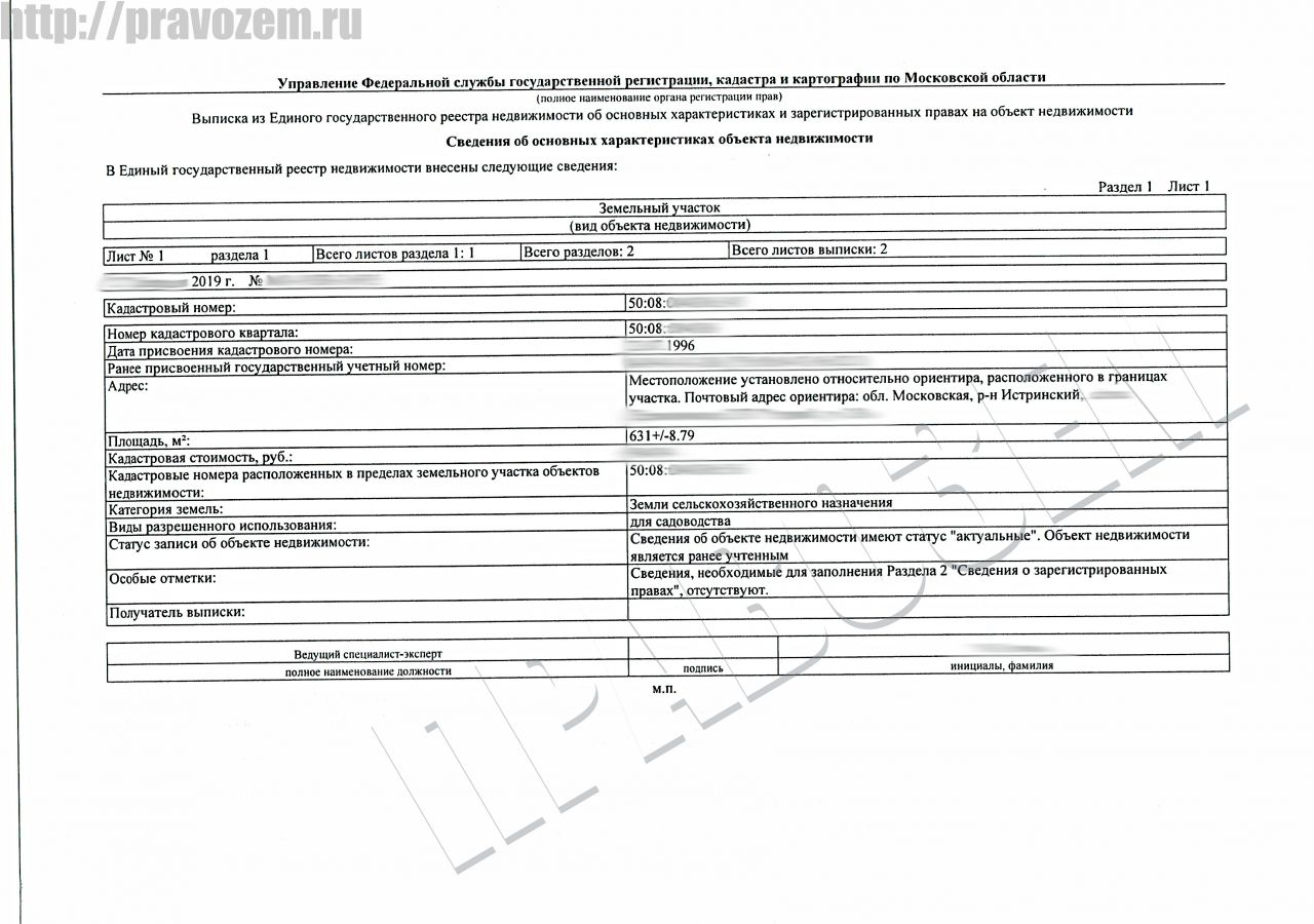 Увеличение участка при первичном межевании в Истринском районе