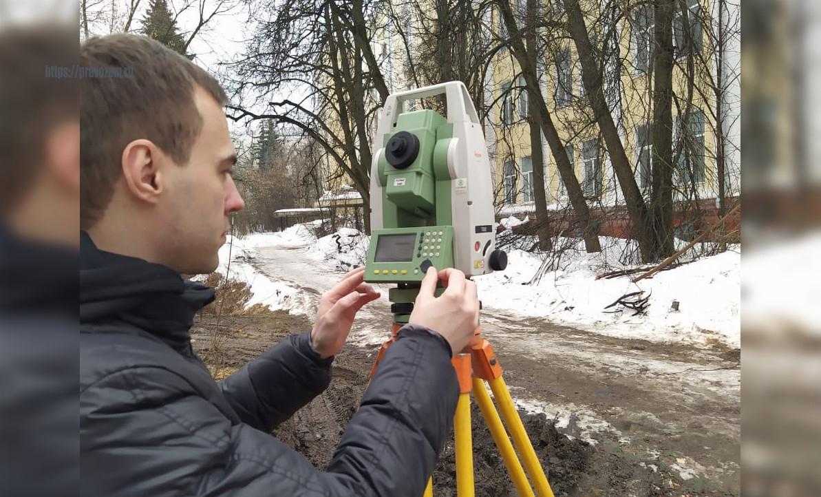 Изыскания для реконструкции административного здания в Подольске
